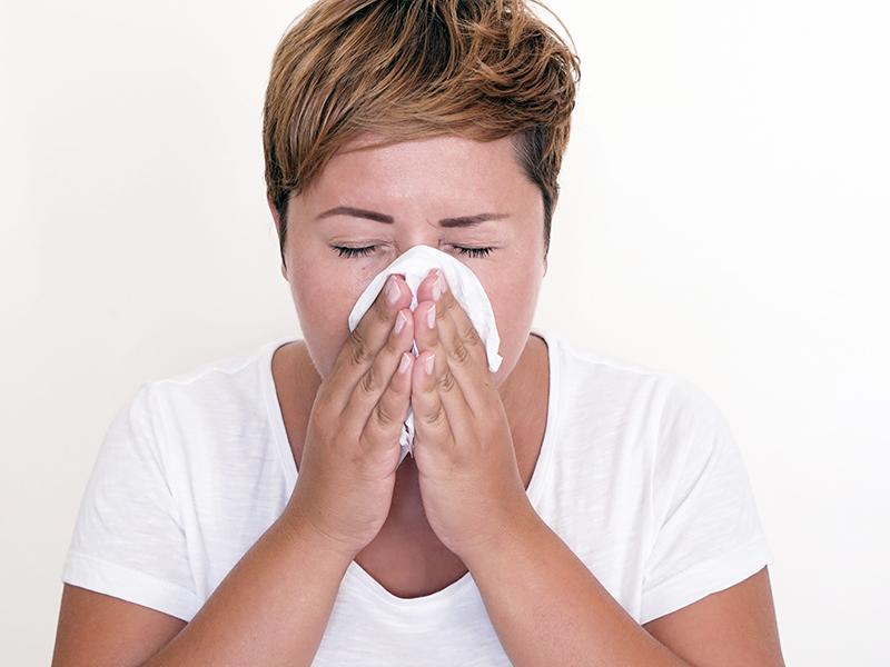 Krwotok z nosa w ciąży
